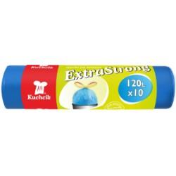 120L 10vnt/rul LDPE mėlyni